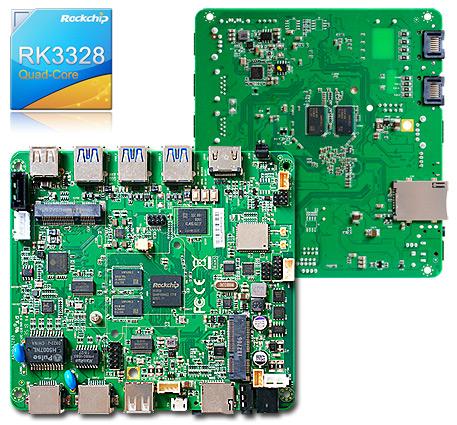 R3328B :: JR3328B :: ARM Cortex A53 Rockchip RK3328 Android 7 1
